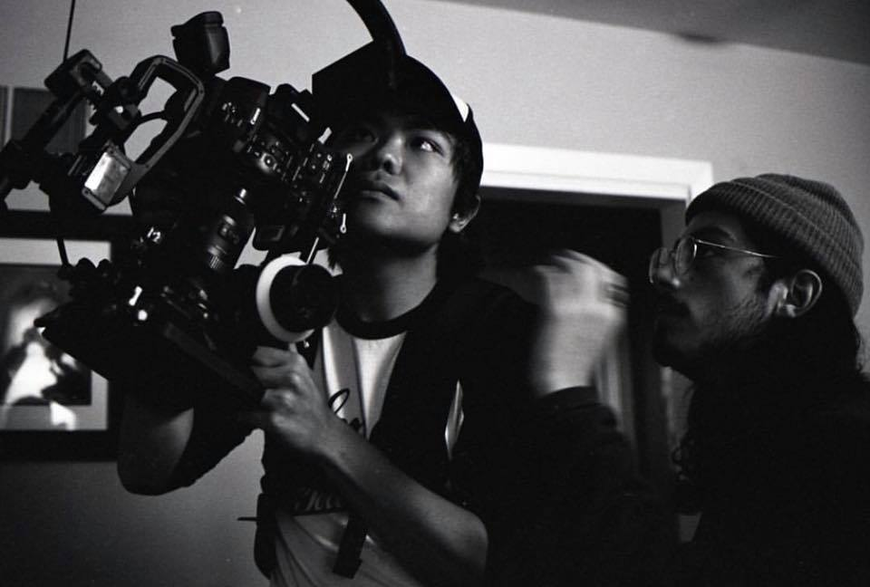 AC Justin Aragon, Director of Photography Justin Vong b-roll of Bella's room